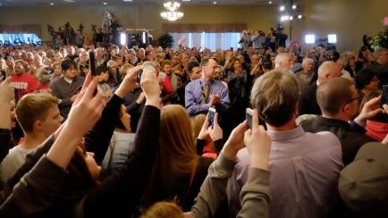 Rubio Rally, Andover, MN